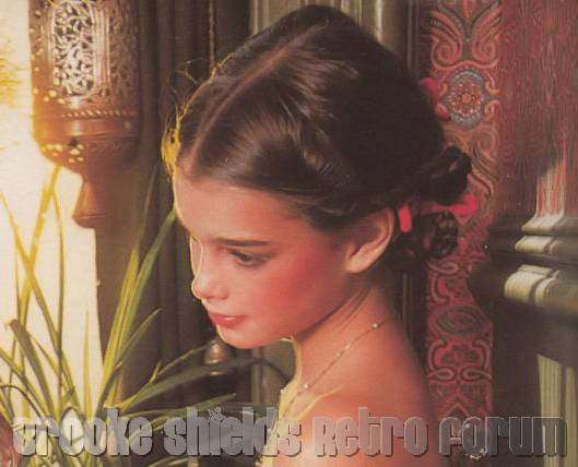 Retro Brooke Shields Forum (only things from 1970) -> Brooke Forum